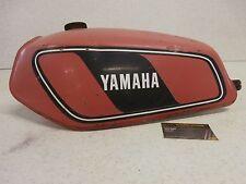 78 Yamaha DT 175 DT175E Enduro DT175 GENUINE Vintage Red Fuel Petrol Gas Tank OE