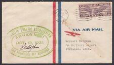 U.S.1931.  Flight Cover, Paciifc Traffic Assn, Alameda, CA