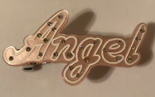 Gymboree Pink Angel With Crystals Barrette