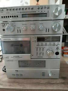Grundig Fine Arts Anlage / Tuner MT100 / Vorverstärker MXV 100 / MCF-600 / MA 10