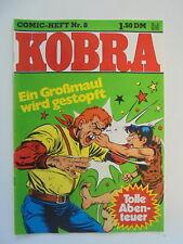 Kobra Comic Heft Nr.8 (eingetütet & geboardet) Zustand 1-2