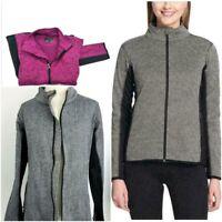 Marc Andrew NY Women's Sz M Tweed Blazer Full-Zip Soft Jacket Pic Co 1213724