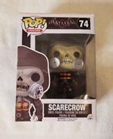 Batman Arkham Knight 'Scarecrow' Pop Funko Figure 74      VGC