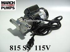 March Beer Pump 815 SS 115v  0809-0196-0700