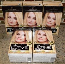 5x - Schwarzkopf Ultime Hair Color - [9 1/2] - Light Natural Blonde