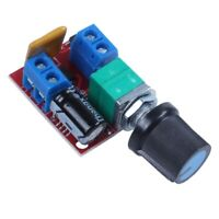 2X(Mini DC Motor PWM Speed Controller 3V 6V 12V 24V 35VDC 90W 5a DC Motor S L3E5