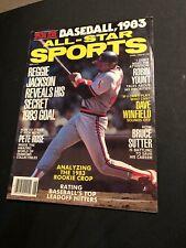 All Star Sports Baseball Magazine 1983 Reggie Jackson Cover
