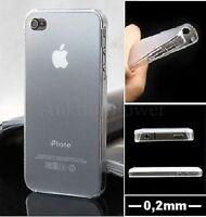 0,2mm EXTRA DÜNN DESIGN HÜLLE iPHONE 5 5S PREMIUM TRANSPARENT CLEAR WEIß + BONUS