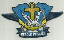 SAR - US NAVY Search and Rescue Swimmer Badge Military Patch - BLUE