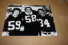PITTSBURGH STEELERS UNSIGNED 8X10 PHOTO JACK HAM, JACK LAMBERT, RUSSELL