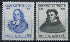 Italy 1968 SG#1226-7 Philosphers Birth Anniversaries MNH Set #D4685