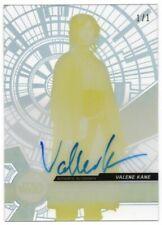 2017 Star Wars High Tek Autographs Proofs Yellow Valene Kane Lyra Erso Auto 1/1