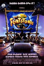 THE FLINTSTONES (1994) ORIGINAL MINI 11 X 17 ADVANCE MOVIE POSTER  -  ROLLED