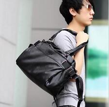 2017 Men Vintage Leather travel Messenger Shoulder crossbody sport Fitness Bag