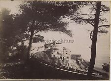 Nice Promenade du Château Vintage citrate ca 1900