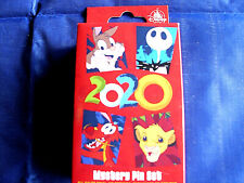 Disney * 2020 Characters & Year * New in Box 2-Pin Mystery Collection Box