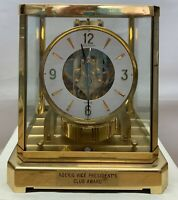 1970s Jaegar LeCoultre Atmos 15 Jewel Clock 528-8 Keeps great time Serial 381065