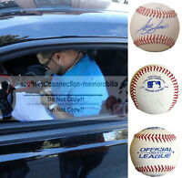 Jose Mijares San Francisco Giants Signed Autograph Baseball Twins Royals Proof
