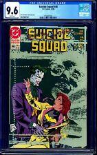 Suicide Squad #48 CGC 9.6 CLASSIC JOKER & BATGIRL STORY Killing Joke NM+
