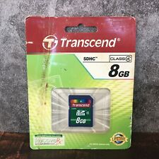 Transcend 8GB SD Cards SDHC Class 4 Memory Card TS8GSDHC4