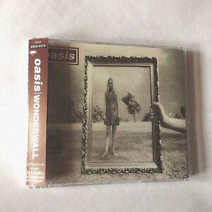 OASIS WONDERWALL Japan cd single + obi 4 tracks Noel Liam Gallagher