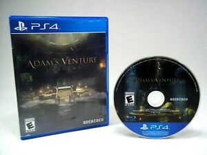 Adam's Venture: Origins (Sony PlayStation 4, 2016) PS4