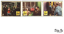 Laura Lobby Card Set of 3 - Dana Andrews - Gene Tierney - Film Noir - 1952 - NM
