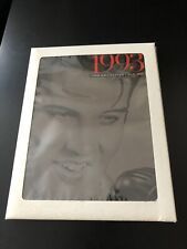 1993 USPS Commemorative Stamp Collection Book Faeturing Elvis