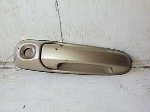 1999-04 JEEP GRAND CHEROKEE FRONT LEFT DRIVER EXTERIOR DOOR HANDLE DARK KHAKI