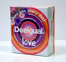 DESIGUAL LOVE PROFUMO DONNA EAU DE TOILETTE EDT 100 ML