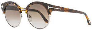 Tom Ford Round Sunglasses TF608 Alissa-02 55Z Vintage Havana  54mm FT0608