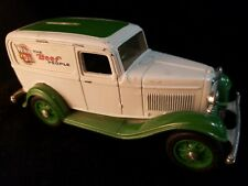 Replica Of 1932 Ford Delivery Van - BANK  Ertl Co. Winn Dixie  Beef People