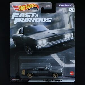 Hot Wheels - Fast & Furious - Dodge Charger - Premium - Brand New