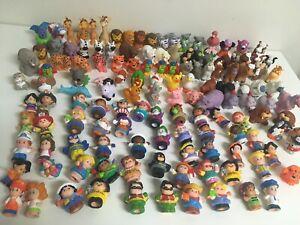 Little People Lot of 10 Random Assorted Blind Figures No Duplicates Animals Etc