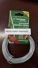 10m x 2.0 Kingfisher Galvanised Garden Training Climbing Plant Fencing Line Wire