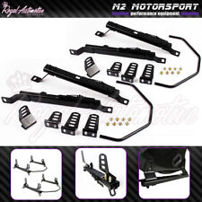 Honda Civic EP3 Low Mount Bucket Seat Frame Rail Subframe Pair Left Right EP2