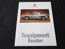 1998 97 Porsche Boxster Tequipment Brochure 986 Accessory Catalog Aerokit Wheels