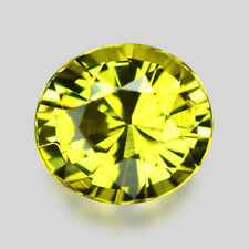 1.75CTS EXCELLENT LUSTER NATURAL GREENISH YELLOW CHRYSOBERYL VIDEO IN DESCRIPTIO