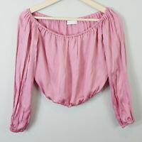 KOOKAI | Womens Off shoulder Miami Pink Top [ Size EUR 40 or AU 12 / US 8  ]