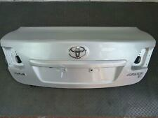TOYOTA AVENSIS T270 BOOTLID WITH HANDLE ULTRA SILVER 1F7 (09-13) BREAKING