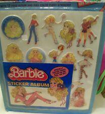 Barbie Sticker Album & Puffy Stickers, Mattel, 1984, Mint in Package