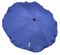 Universal Baby Umbrella Waterproof Fit Quinny Buzz/Zapp pram/stroller Dark Blue