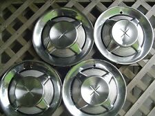 1960 1961 DESOTO FIREDOME FIRESWEEP FIREFLITE ADVENTURER HUBCAPS WHEEL COVERS