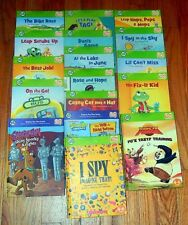 LOT 17 LEAP FROG Tag Children BOOKS 4HC & 13SC Scooby Doo I SPY Phonics Vowels
