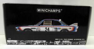 Minichamps 1/18 Scale Diecast - 180 752924 BMW 3.5 CSI 6H Riverside '75 Posey