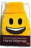 Emoticon Mini Gel Hand Warmer Reusable Instant Heat Hot Water Bottle Winter Gift