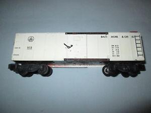 American Flyer #933 B&O Baltimore & Ohio Boxcar