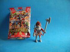 Playmobil Figures series 18 Guerrera medieval con armas Ritter Frau   70370