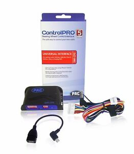 PAC SWI-CP5 ControlPro5 Steering Wheel Control Universal Adapter Smartphone App