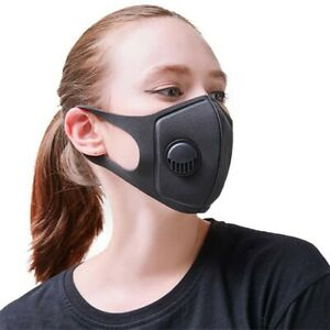 Breathable Washable Foam Face Mouth Masks Protective Anti Haze Mask UK